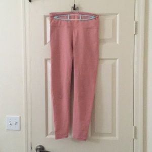 Fabletics pink leggings L